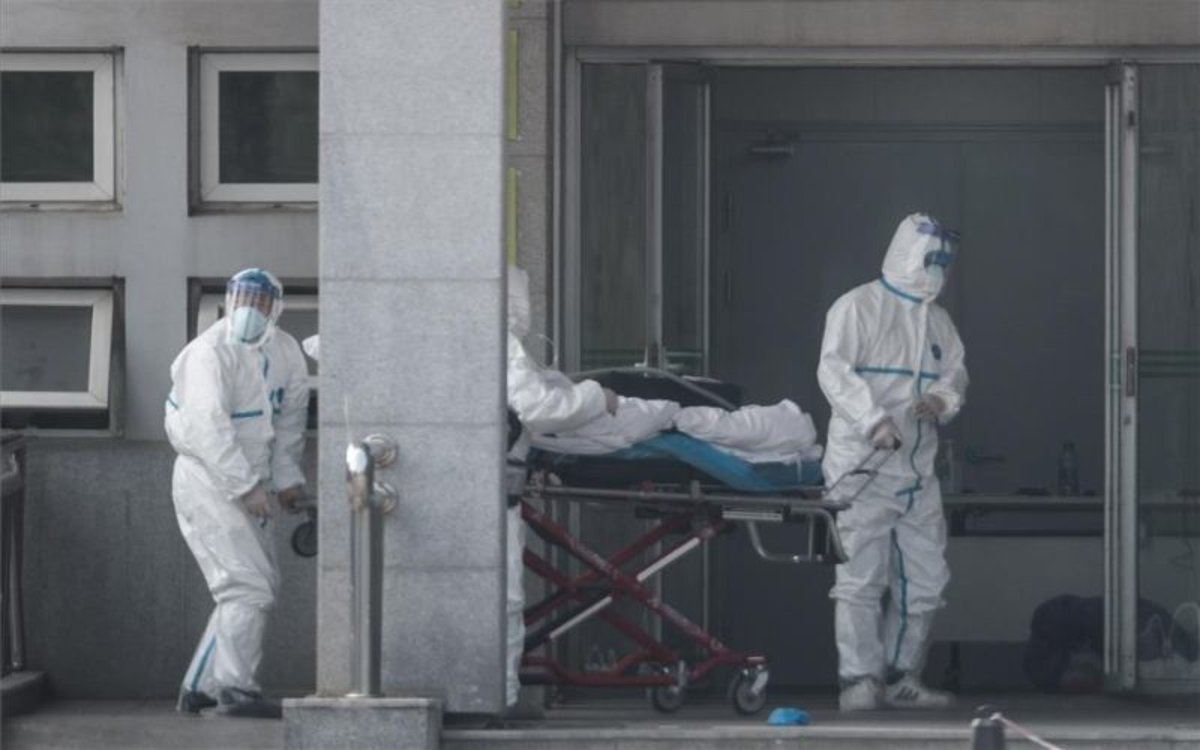 Muerte en China poruna neumonía vírica.