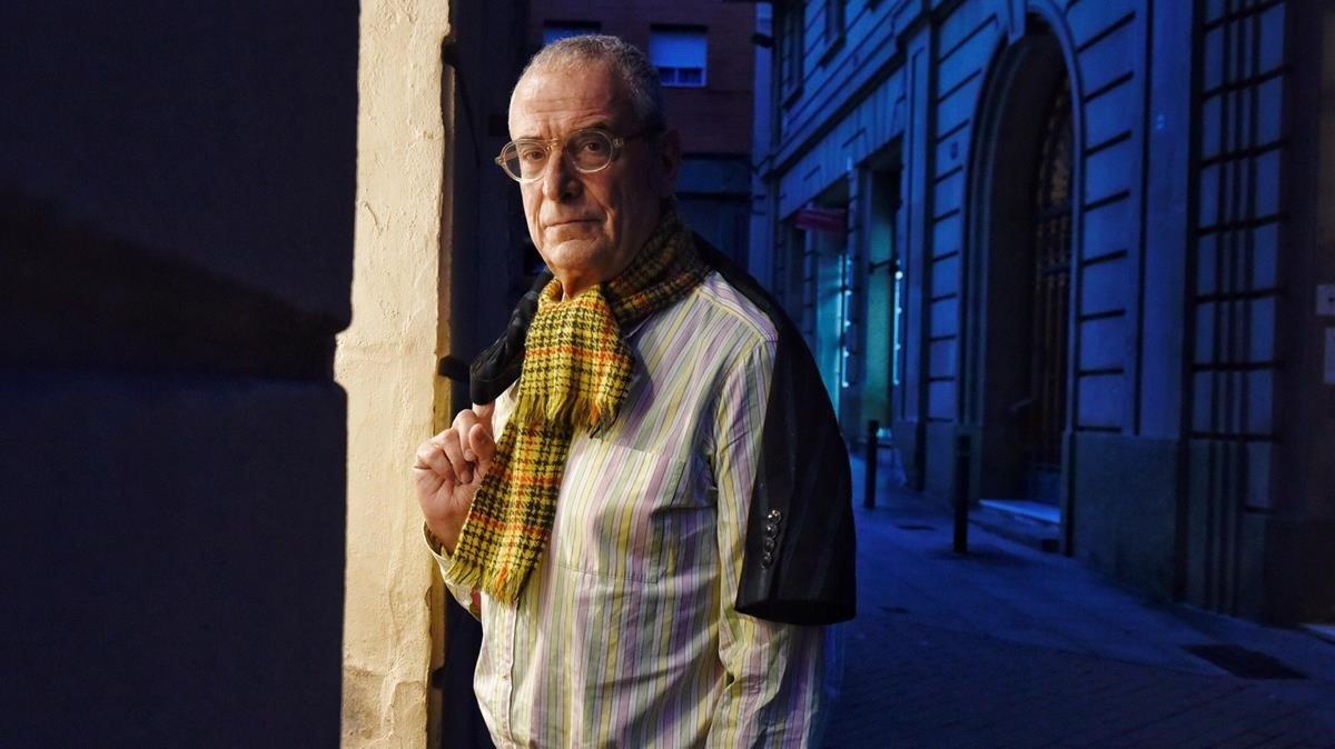 El cineasta y productor Lluís Miñarro, que estrena 'Love me not', el miércoles pasado en Barcelona.