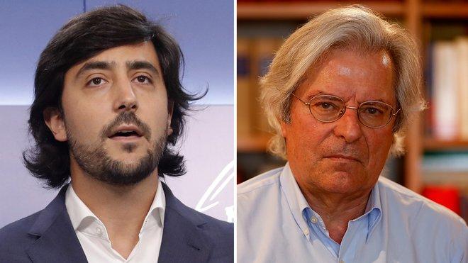 Toni Roldán y Javier Nart.