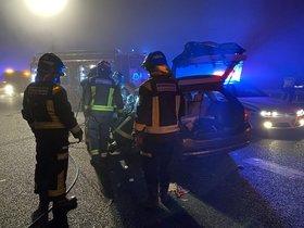 El accidente mortal en Móstoles.