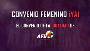 Jugadoras y AFE anuncian otra posible huelga por no firmarse aún el convenio