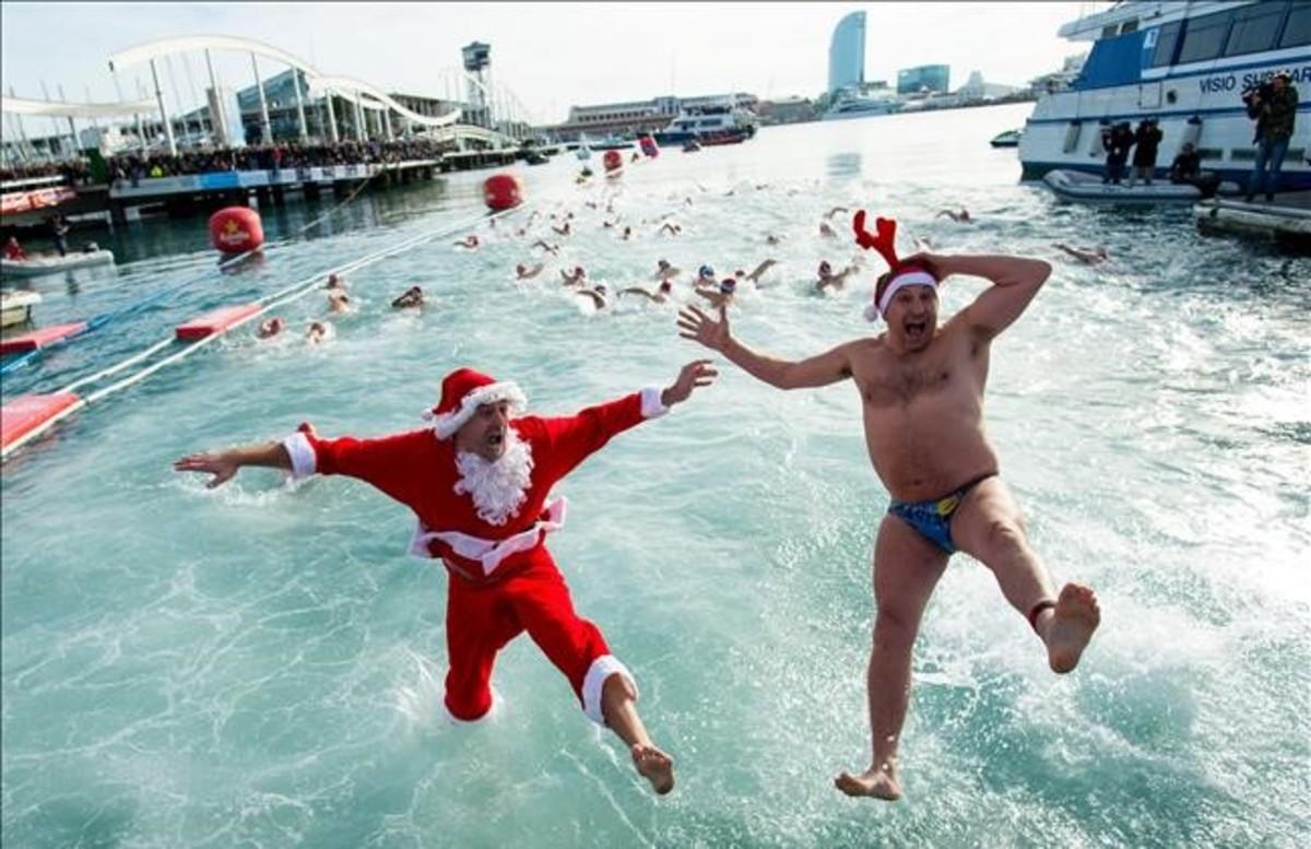 La Copa Nadal reúne en aguas de Barcelona a más de 300 ...