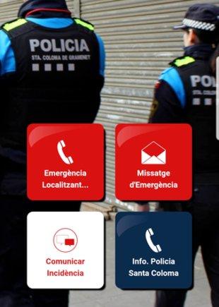 Imagen de la app de Seguridad Ciudadana.