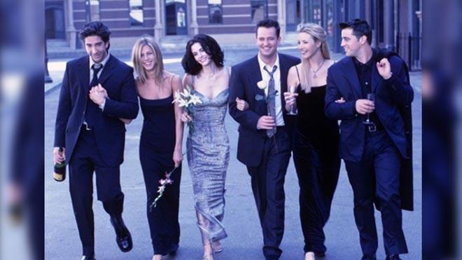 Se cumplen 25 años del estreno de 'Friends'.