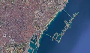 Simulación del proyecto de Jacobi para el litoral barcelonés.