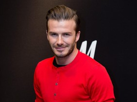 Una imagen de archivo del exfutbolista David Beckham.