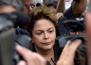 Rousseff se presentó a los comicios para la Cámara Alta en un intento por volver a la vida política.