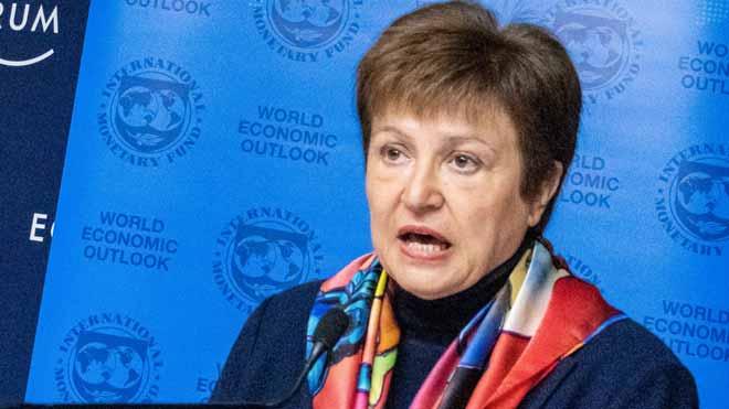 La directora del FMI asegura que estamos ante una crisis nunca vista.