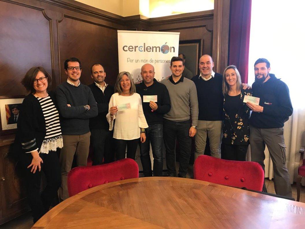 La IV festa Salta! de Cerclemón recapta 2.267 euros a Terrassa per investigar el càncer infantil