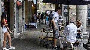 L'oposició posarà límit a la pressió de Colau sobre les terrasses de Ciutat Vella