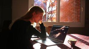 Elisa Castaner, catalana que trabaja en la start-up de EEUU Palantir.