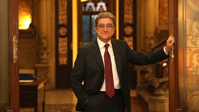 Enric Millo nuevo delegado del Gobierno en Catalunya responde a tres preguntas