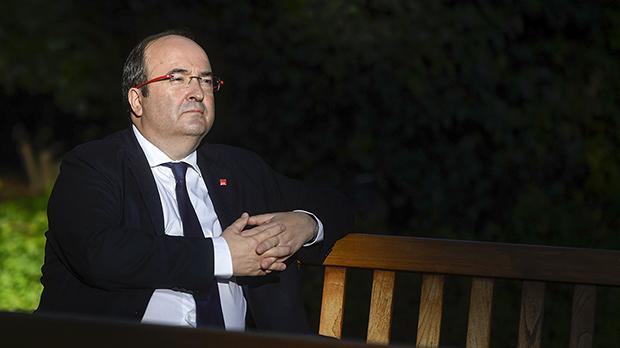 Miquel Iceta, reelegido primer secretario de los socialistas catalanes enel 14 congreso del PSC.