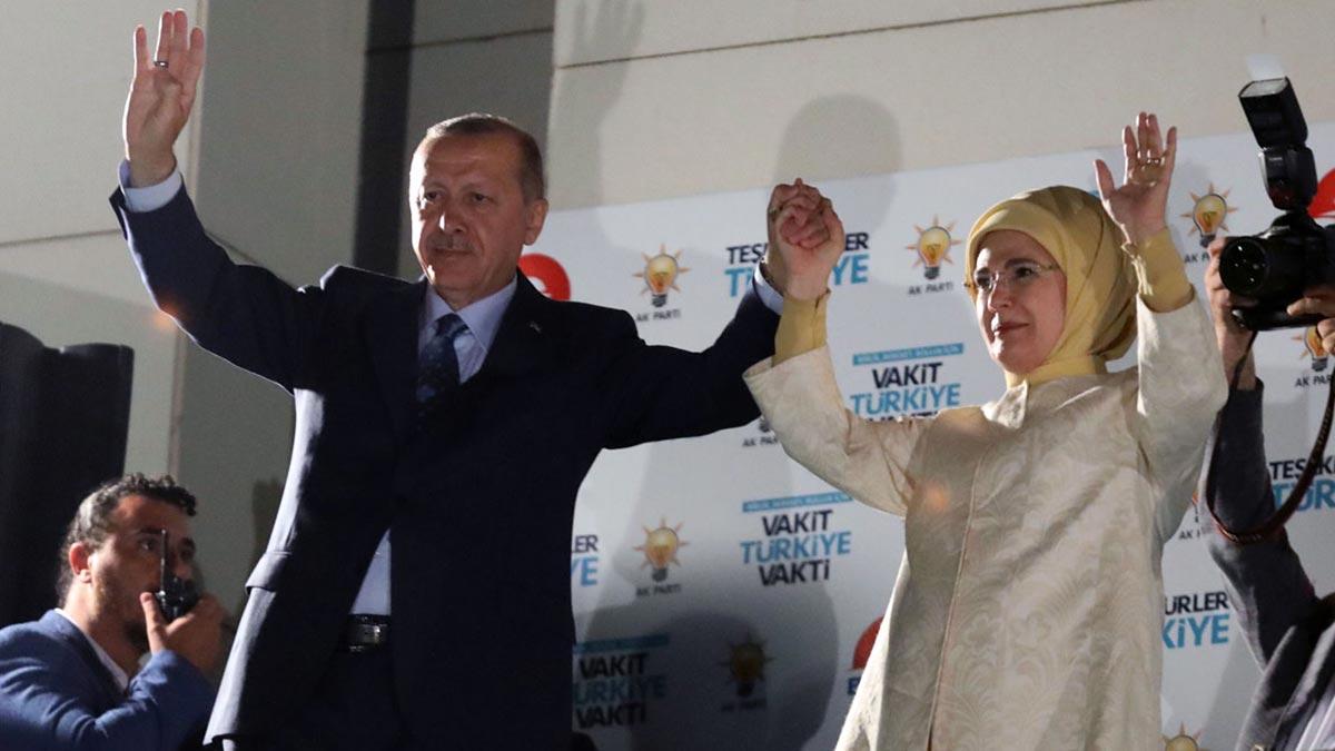 Erdogan gana las elecciones presidenciales en Turquía.