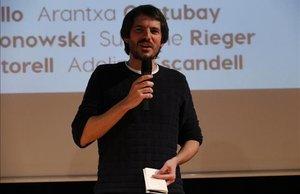 Ernest Urtasun en el acto de presentación de la candidatura a las elecciones europeas