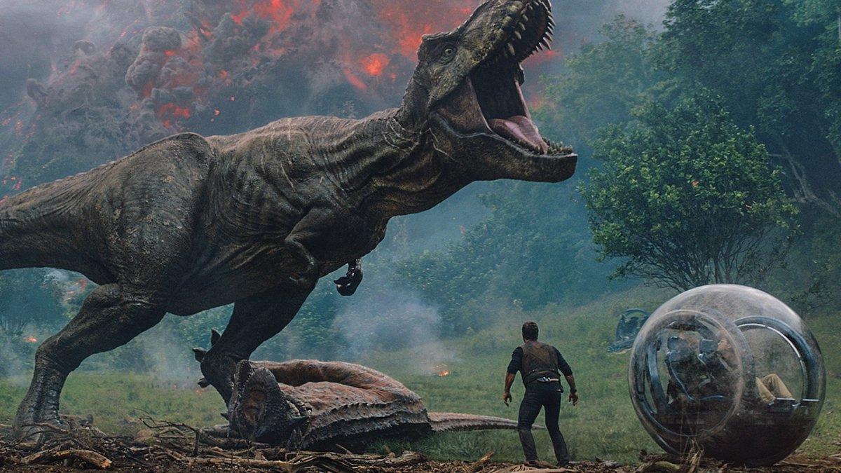 Escena de 'Jurassic World: El reino caído'.