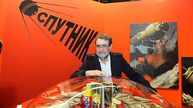 Exposición Sputnik. La odisea del Soyuz 2, de Joan Fontcuberta, en CosmoCaixa.
