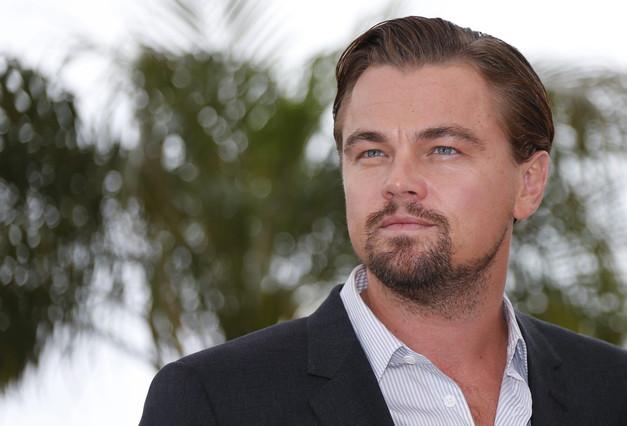 Fotografia d'arxiu. Leonardo Di Caprio posa per als fotògrafs al Festival de Cannes.