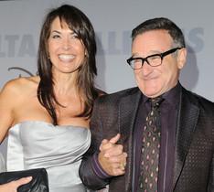 Fotografia darxiu de Robin Williams amb la seva dona Susan Schneider.