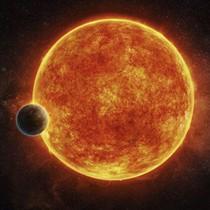 Fotografía facilitada por el Observatorio ESO, del exoplaneta LHS 1140b.