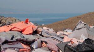 Fotograma del documental 'Lesbos, una illa que espera'