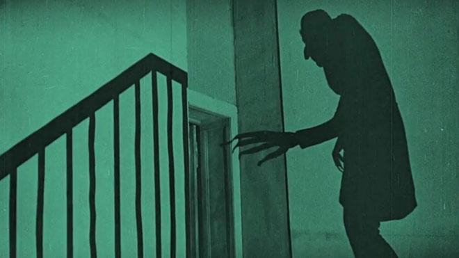 Fragmento de 'Nosferatu', de Friedrich Wilhelm Murnau.