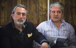 Francisco Correa (izquierda)y Pablo Crespo, durante el juicio por el 'caso Fitur'.