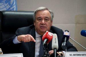 El secretario general de la ONU se mostró muy abierto a la idea de reforzar la cooperación.