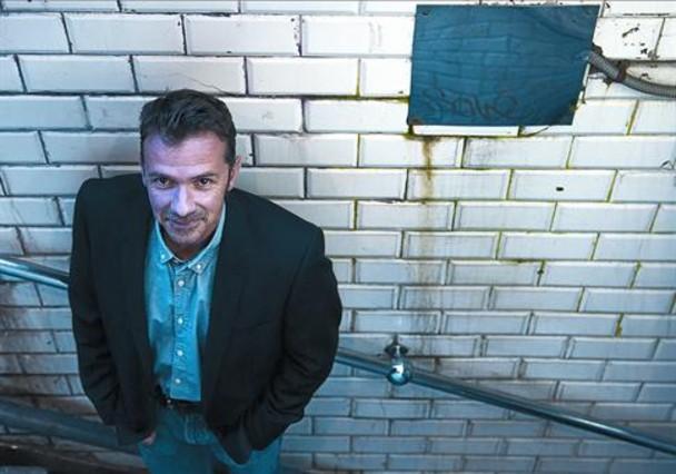 Horror y conciencia 8El escritor e ingeniero Franck Thilliez, fotografiado en Barcelona.