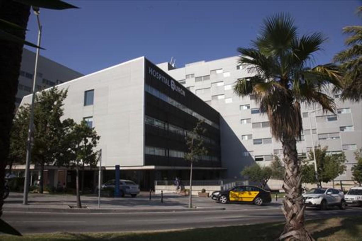 El Hospital Quirón de Barcelona, ayer.