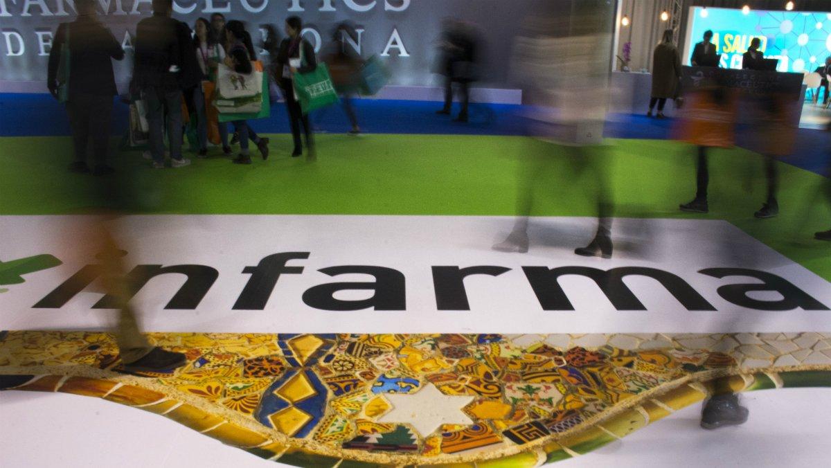 Apertura del salón Infarma 2019 en la Fira.