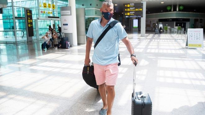 Jasikevicius llega a Barcelona.