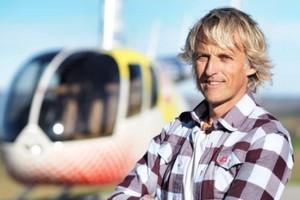 El helicóptero de Jesús Calleja continuará volando en Cuatro durante una cuarta temporada