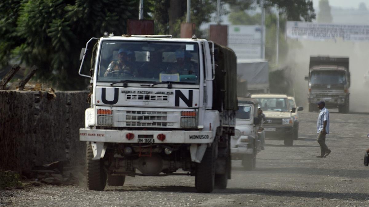 14 cascos blaus i cinc soldats congolesos moren en un atac a la República Democràtica del Congo