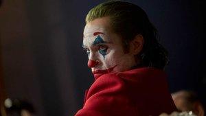 Joaquin Phoenix, en un fotograma de 'Joker', la segunda pelíucla más vista en España en el 2019.