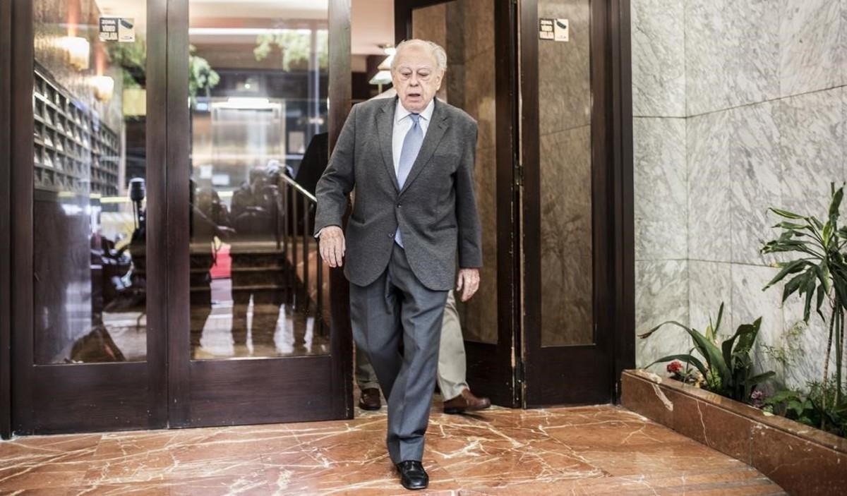 Jordi Pujol, en una imagen del pasado abril.