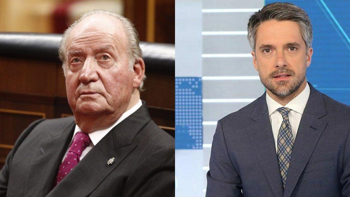 TVE programa un especial informativo sobre la salida de Juan Carlos I conducido por Carlos Franganillo