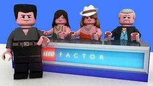 Las figuras de Lego del programa 'Factor X'.