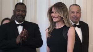 Melania Trump, el pasado 8 de marzo en la Casa Blanca.