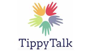 Logo de la app TippyTalk, que ayuda en la comunicación entre padres e hijos con autismo.