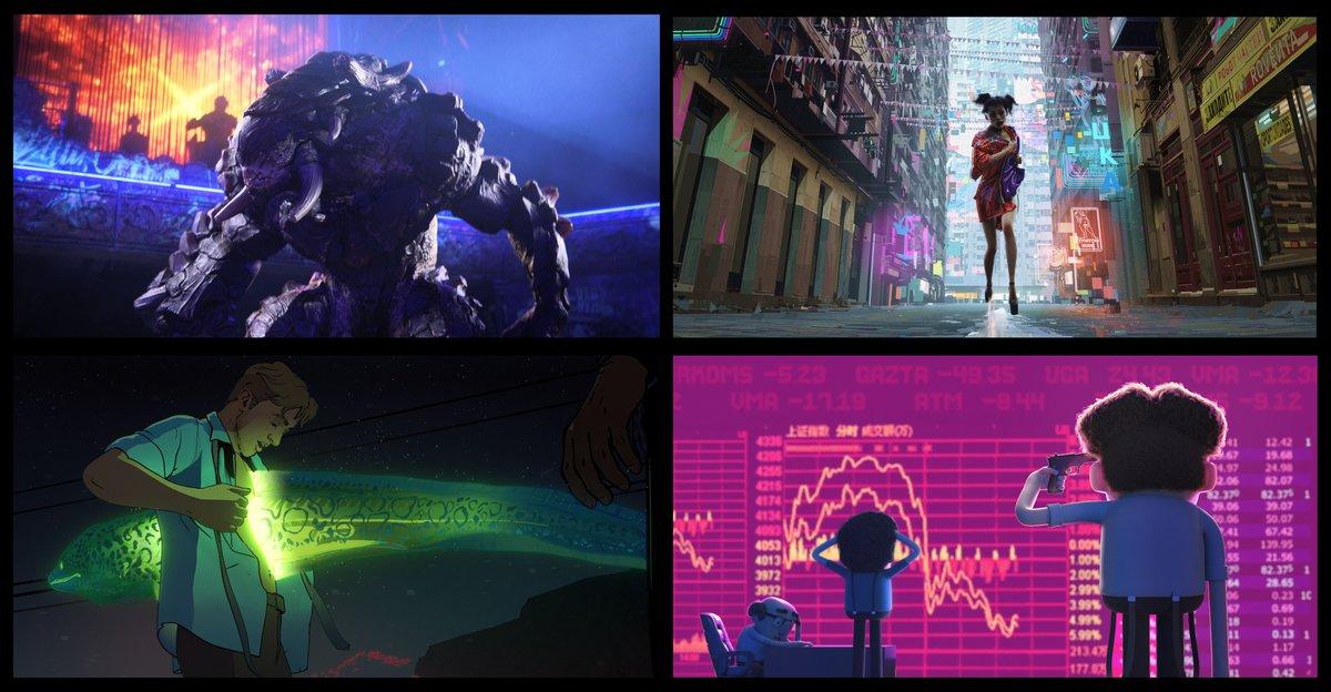 Netflix anuncia la seva primera sèrie antològica d'animació