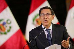 Vizcarra había añadido que, con esta nueva solicitud de vacancia, intentan desestabilizar al país.