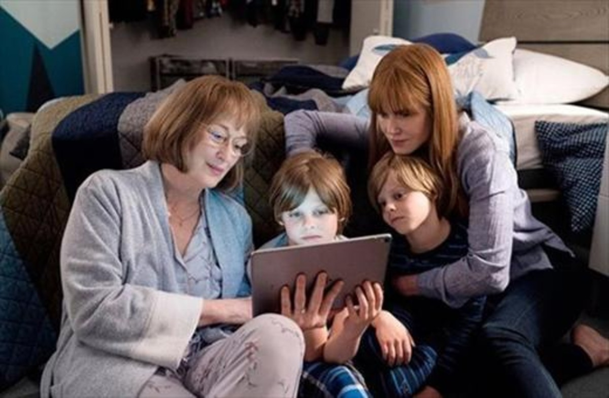 Meryl Street y Nicole Kidman, en la segunda temporada de 'Big little lies'.