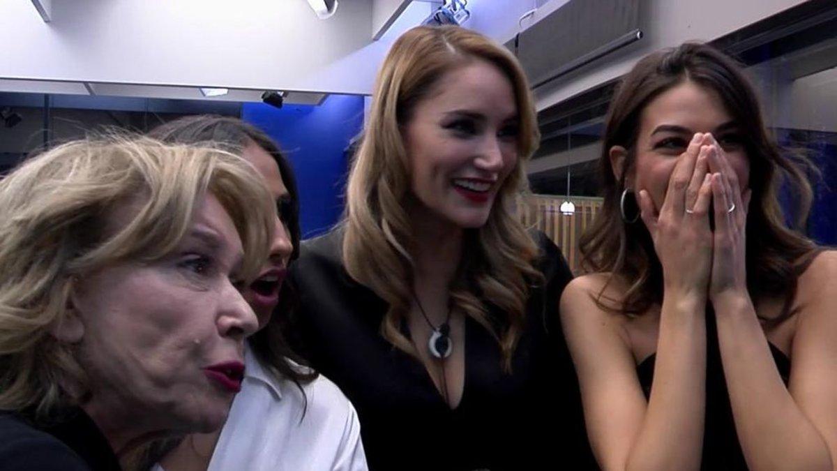 Mila, Noemí, Adara y Estela en 'GH VIP'.