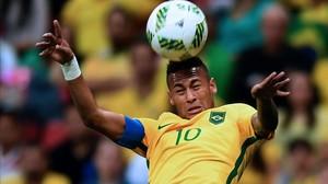 Neymar fracasó de nuevo con la 'canarinha'.