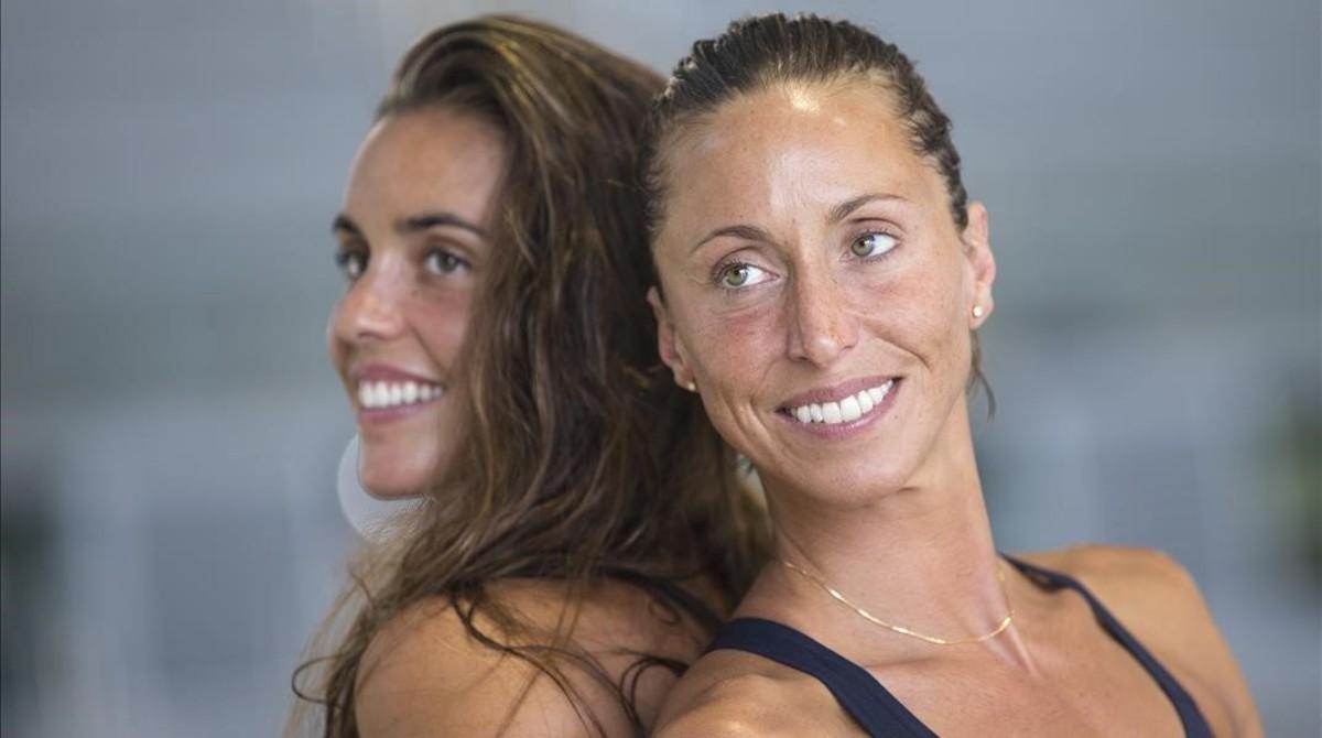 Ona Carbonell y Gemma Mengual forman el dúo español de natación sincronizada para los Juegos Olímpicos de Río.