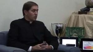 Óscar Turrión, en una imagen de Youtube.