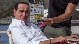 Toni Servilo, durante el rodaje de Loro, la película en la que encarna a Silvio Berlusconi.