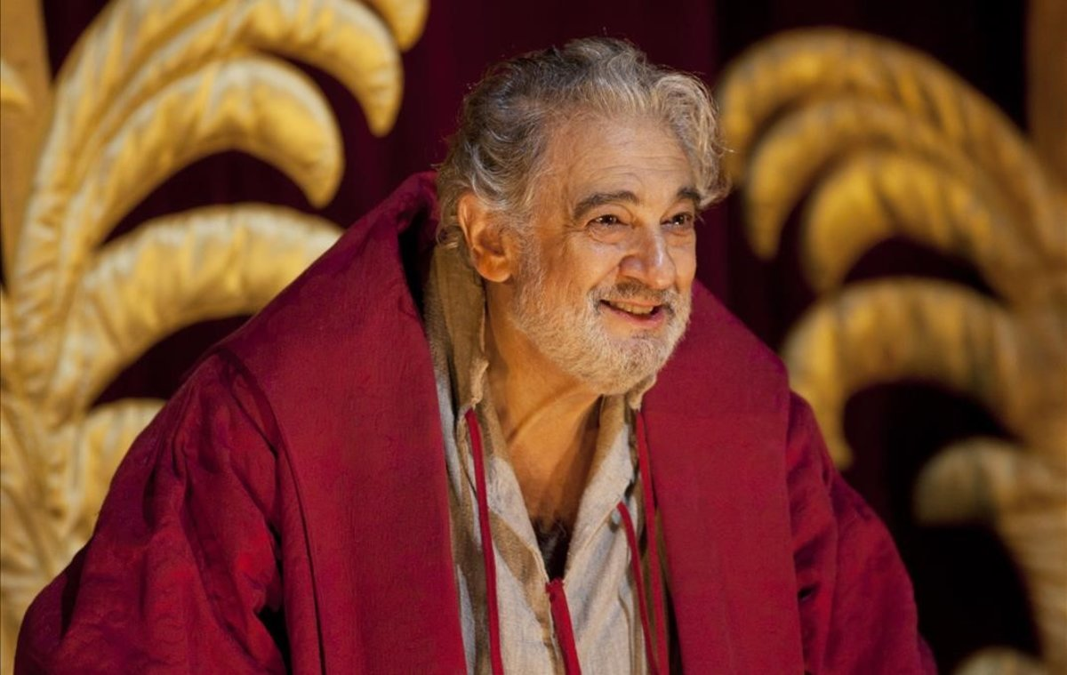 Plácido Domingo en el Royal Opera House de Londres.