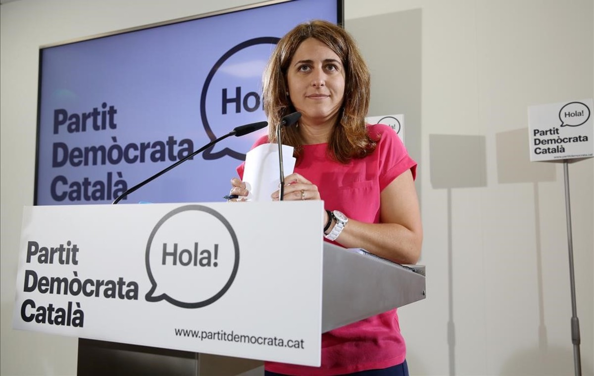 Marta Pascal, coordinadora general del Partit Demòcrata Català.